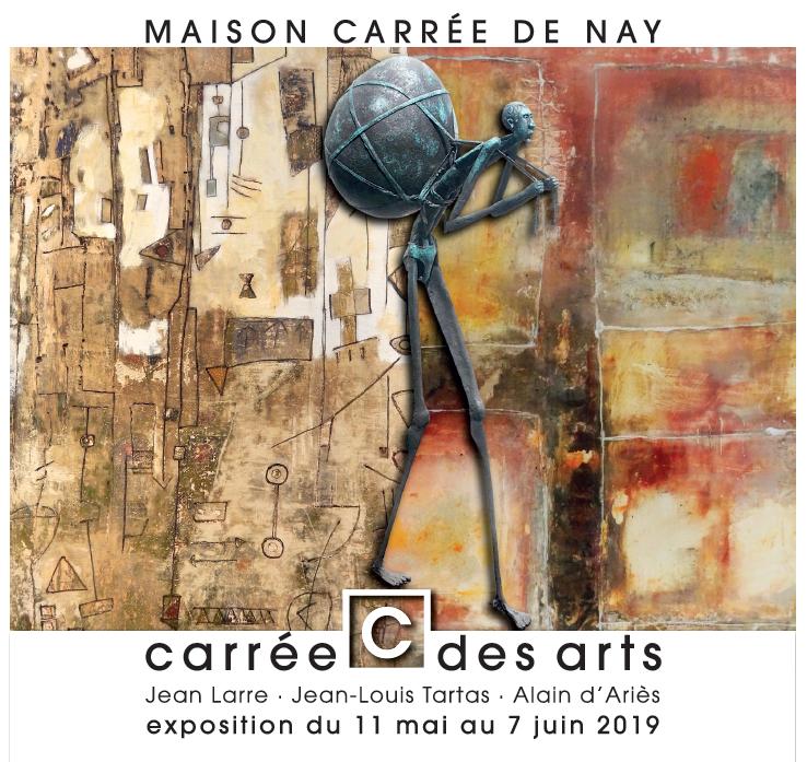 Expo Maison carrée de Nay(64) mai-juin 2019