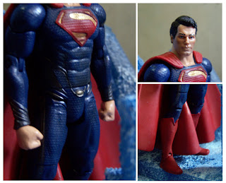 Mattel Man of Steel Movie Masters Superman Figure