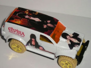 Custom Elvira Hot Wheels Dodge Power Panel