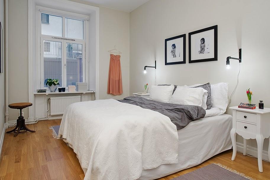 amenajari, interioare, decoratiuni, decor, design interior, apartament 3 camere, stil scandinav, dormitor