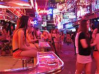 Thailand nightlife at Soi Cowboy Bangkok