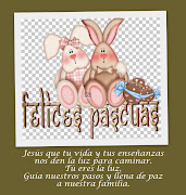 ¡¡¡FELICES PASCUAS!!! Publicado por DIRECCION NIVEL INICIAL tarjeta pascua blog