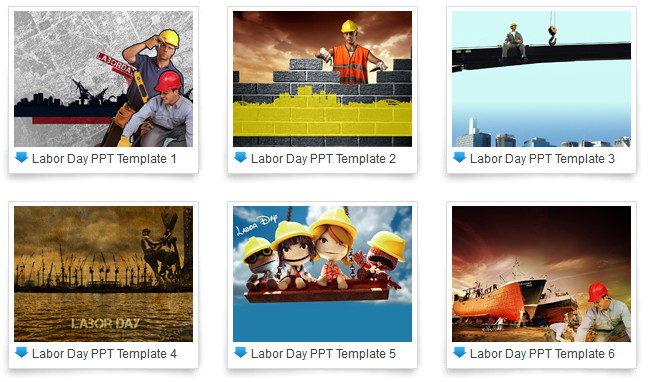 free Labor Day PowerPoint templates