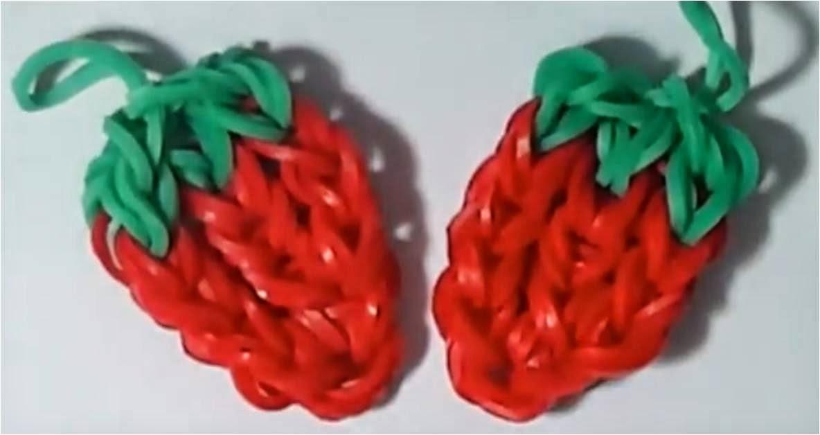 Fresas con gomitas
