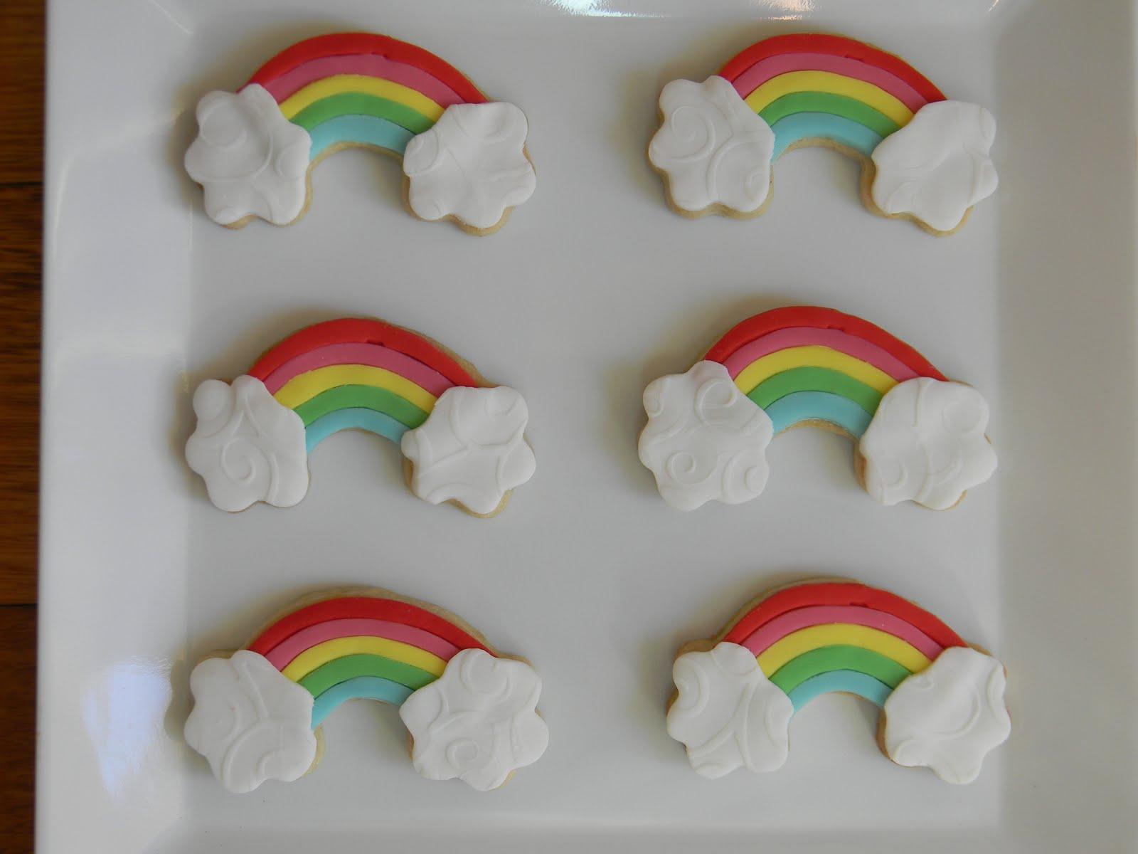 Next some rainbow cookies.....