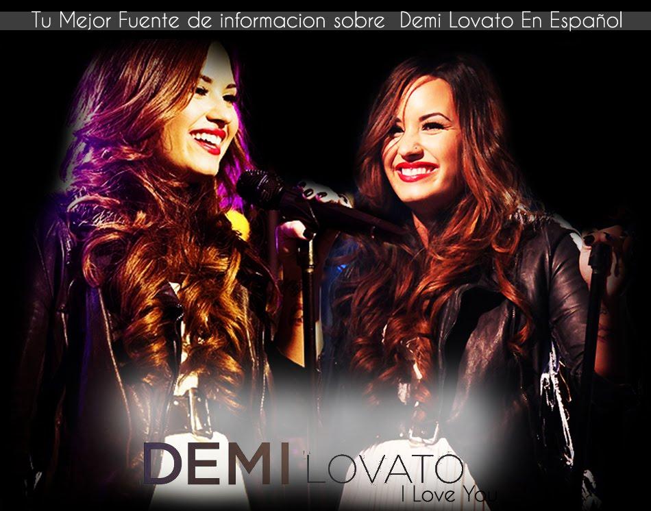 Demi lovato, I Love You