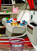 Уборка в машине - Онлайн игра для девочек