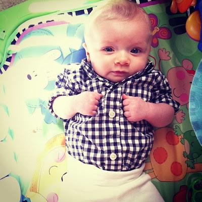 TESSA RAYANNE: My Baby Boy Is 4 Months Old!