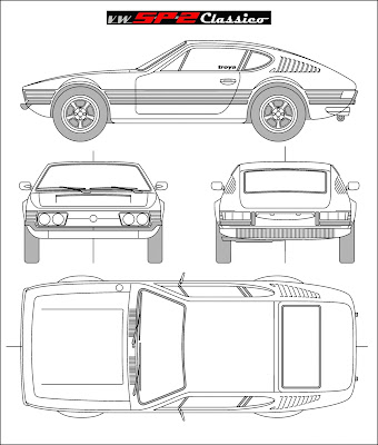 Blueprint Volkswagen SP2