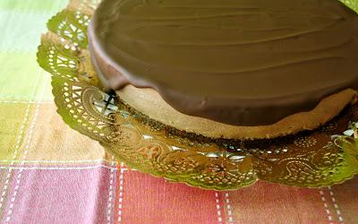 Tarta mousse de xocolata i iogur