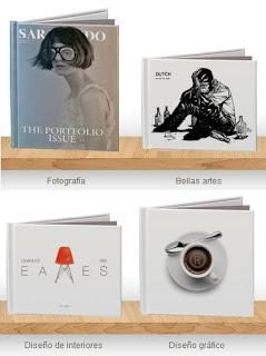 Libros realizados en Blurb