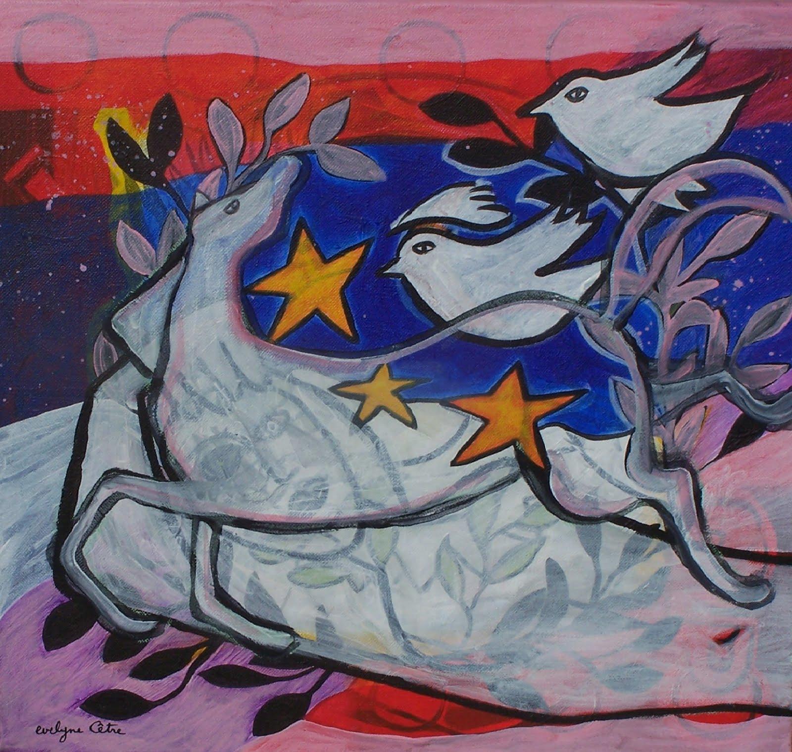 Cheval dans les étoiles