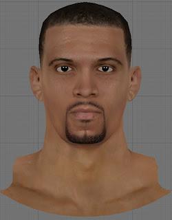 NBA 2K13 Francisco Garcia Cyberface Patch