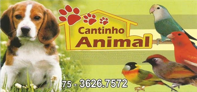 CANTINHO ANIMAL