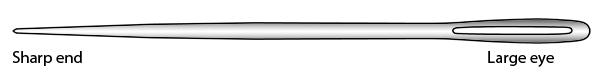 Chenille needle