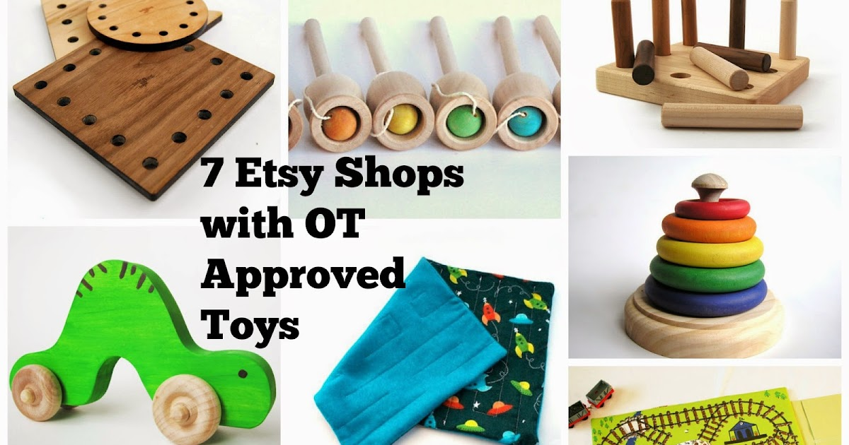 Ot Cafe Ot Approved Toy 7 Etsy Shops For Ot Approved Toys