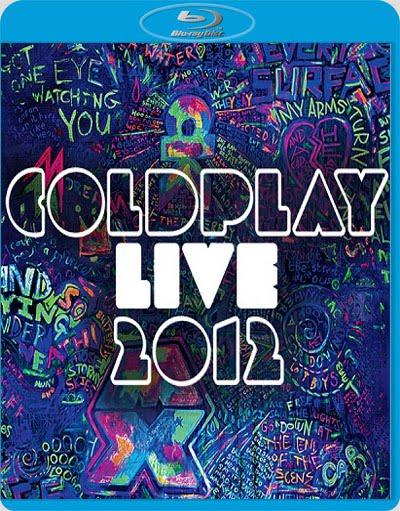 Coldplay Live (2012) BluRay 720p 575Mb Mkv