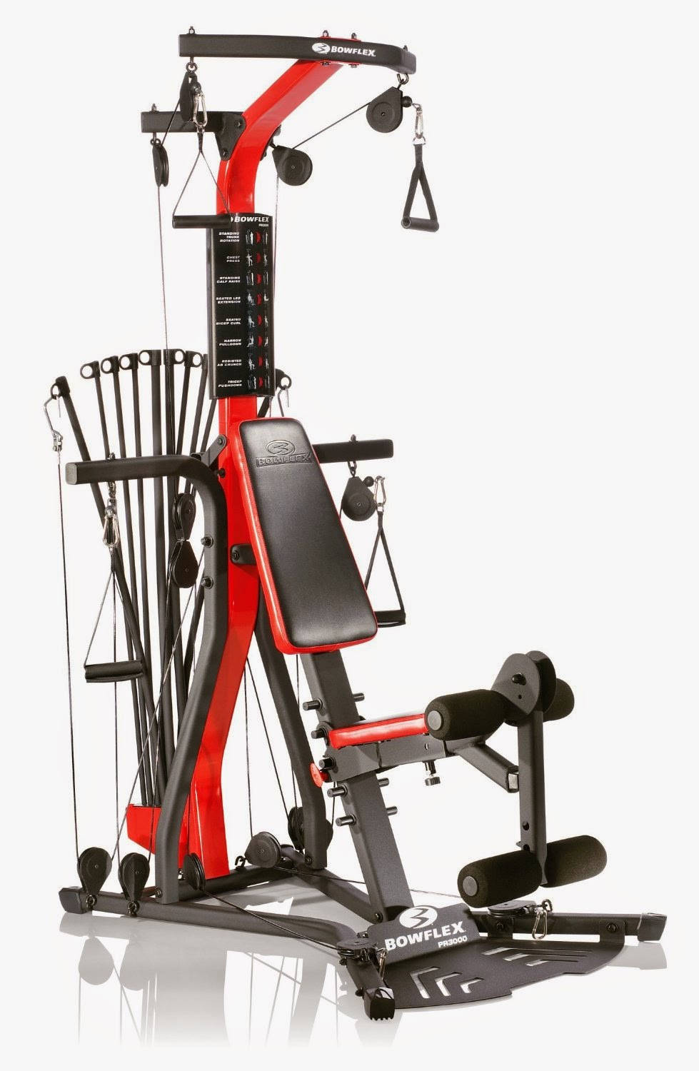 bowflex exercise machine
