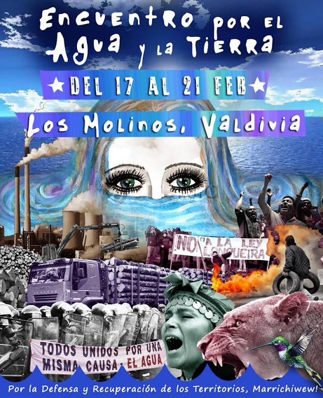 VALDIVIA: ENCUENTRO POR EL AGUA Y LA TIERRA