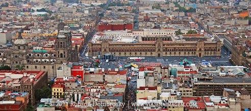 vista panoramica da torre latinoamericana