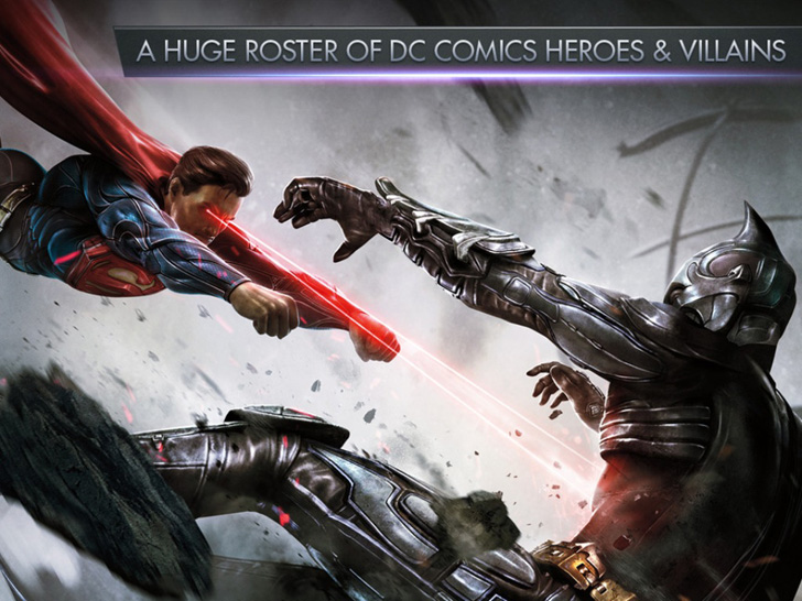 Injustice: Gods Among Us Free App Game By Warner Bros