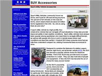 Suvaccessories: SUV's and Accessories