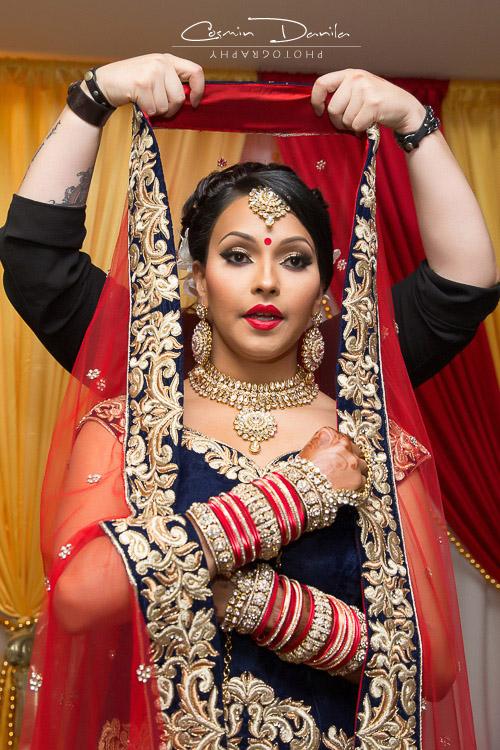 Sheetal & Gurveer - Fijian-Punjabi Wedding in Calgary | Cosmin ...