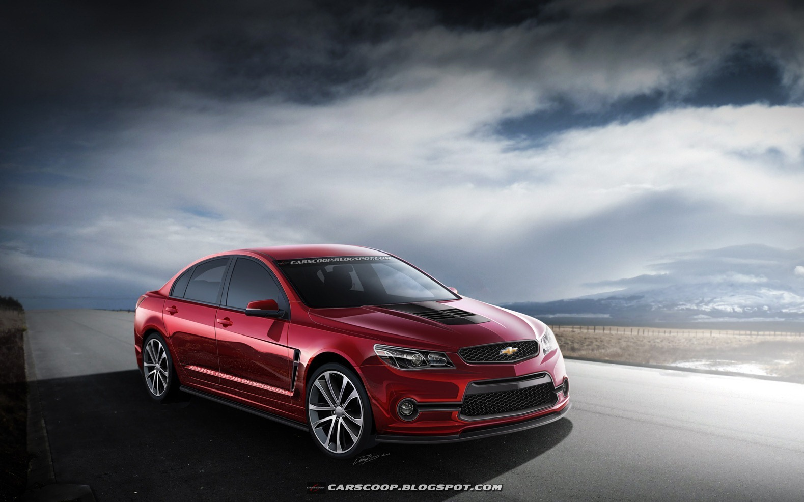 2014 Chevrolet SS Finally Unveiled.
