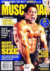 ปกนิตยสาร Muscle Mag <br>ฉบับเดือน สิงหาคม 54