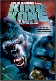 King Kong Lives DVD Cover and Amazon Link