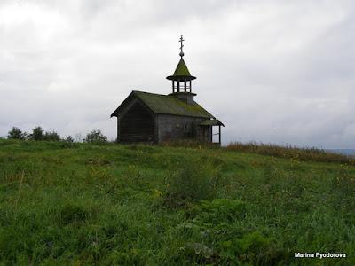 Никольская часовня в деревне Кондобережная