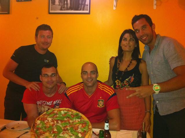 Federica, la dueña del italiano donde cenamos