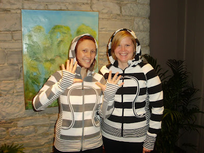 lululemon striped scuba hoodie
