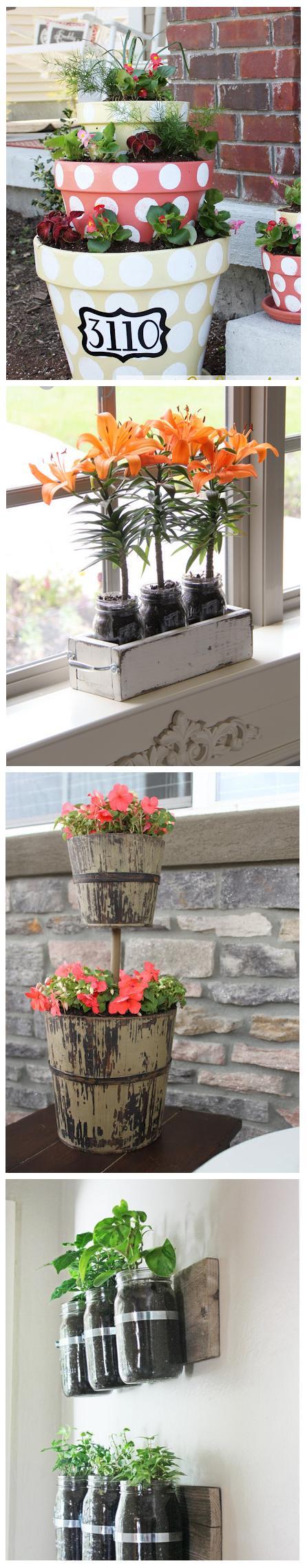 4 beautiful planter ideas for Beautiful planters