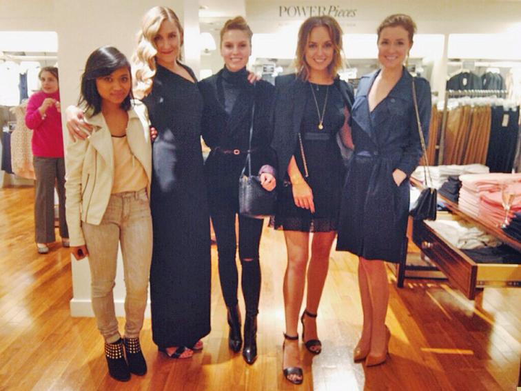 Ann Taylor Kate Hudson LBD, little black dressed, Kelly Framel, Erin Framel, The Glamourai