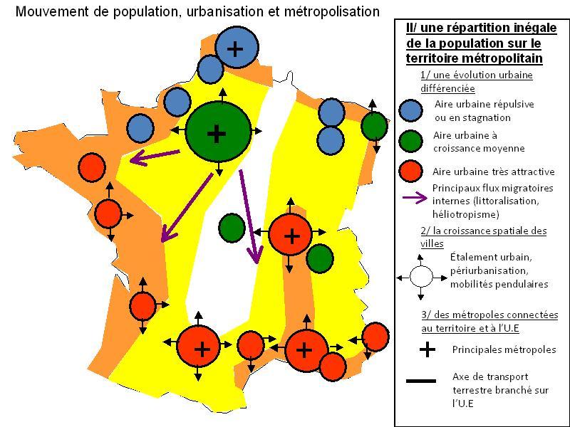 La France En Ville Ere S Carte