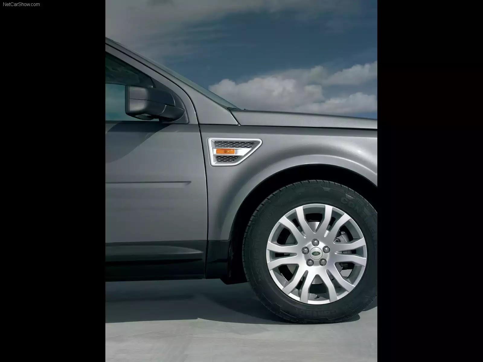 Hình ảnh xe ô tô Land Rover LR2 2007 & nội ngoại thất