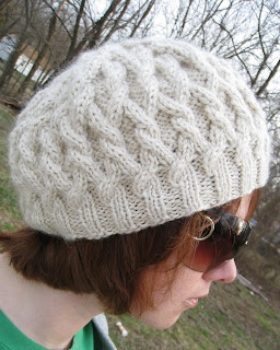 free knitting pattern wool ease thick quick knit hat knit hat pattern