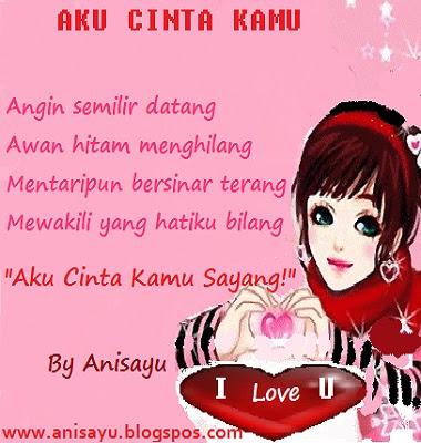 Pantun Cinta on Puisi Cinta By Anisayu  Sms Puisi Pantun Menyatakan Cinta Romantis