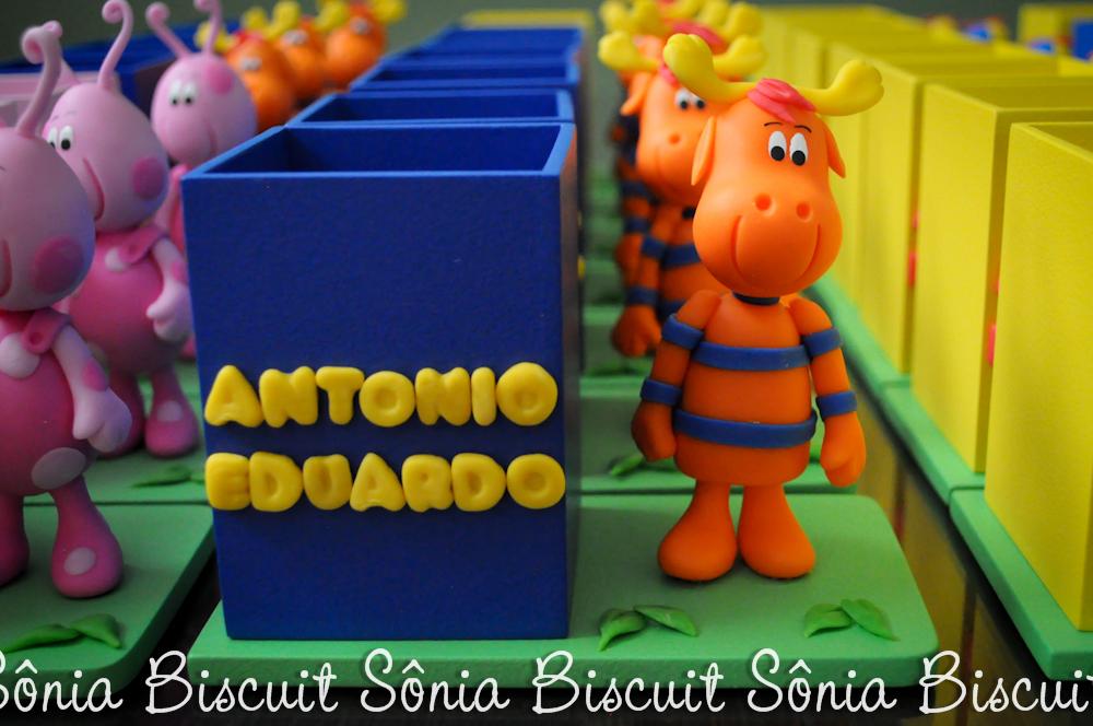 Backyardigans Porta-Lápis Biscuit Pablo Tyrone Uniqua Tasha Austin