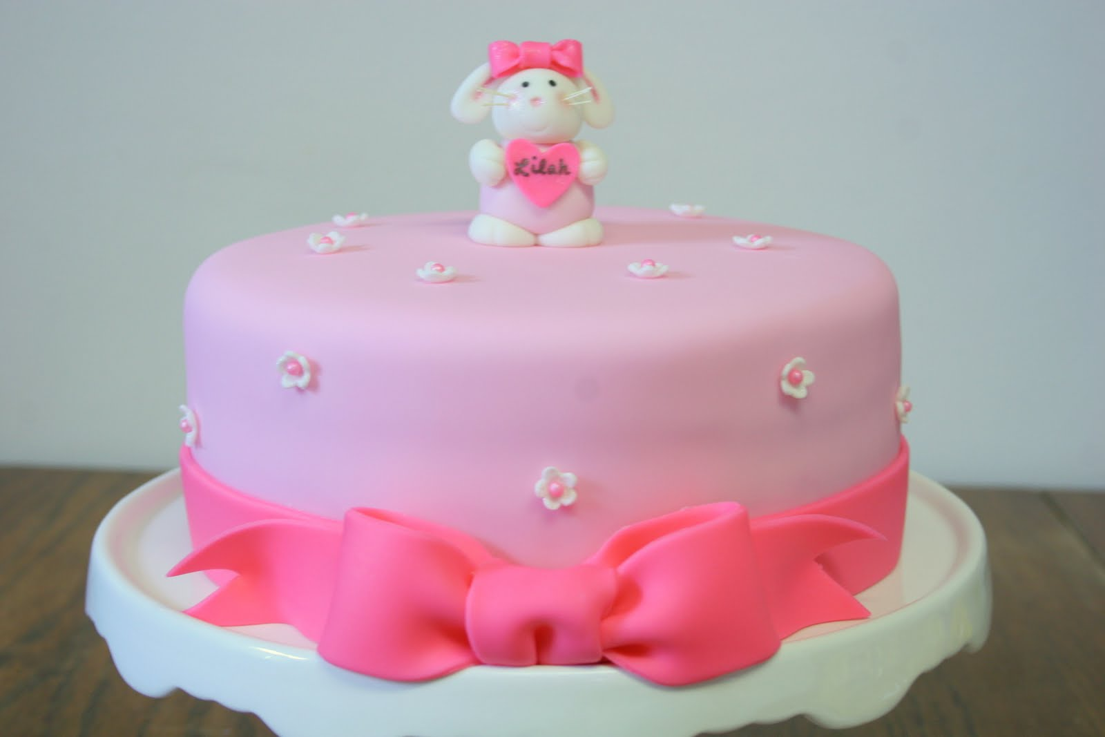 Baby Shower Cakes For Girls ~ Stuff by stace bunny rabbit girl s baby shower cake