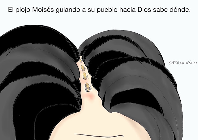 El piojo Moisés