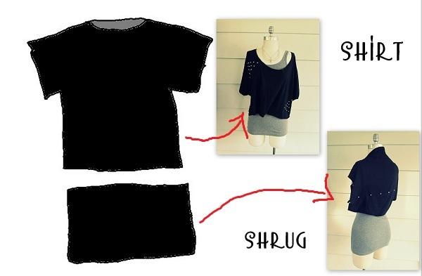 Как сделать футболку меньше на размер