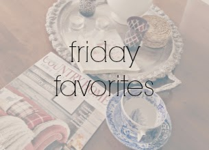 Friday Favorites www.natashainoz.com