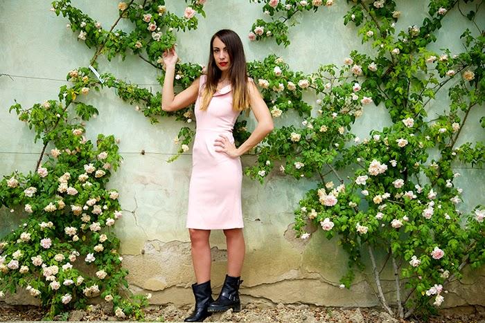 rosa in versione rock