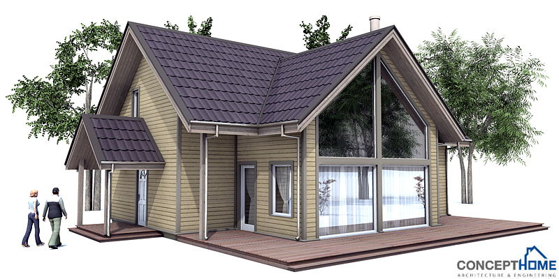 Affordable Modern House Plans Affordable Home Plans Modern Economical House Plan Ch167