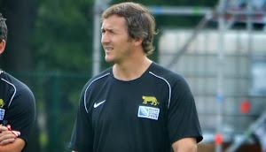 Nahuel García, entrenador del Seleccionado Argentino de Rugby Femenino