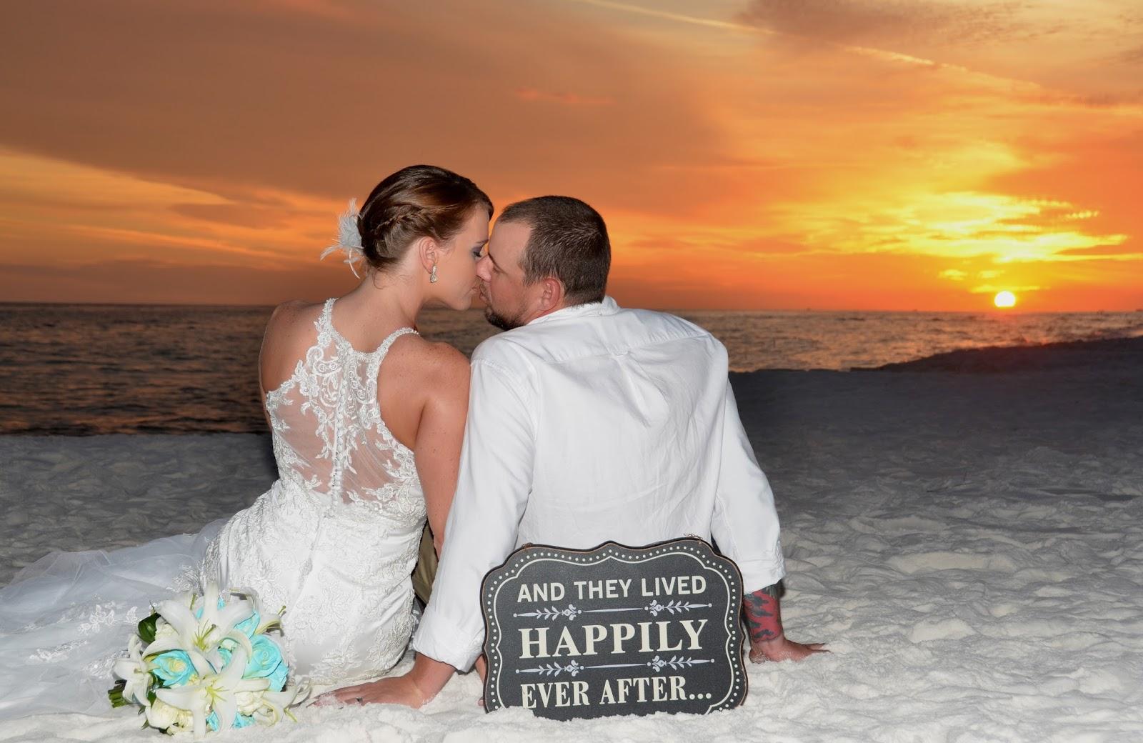 Beach weddings fort walton beach wedding packages sunset beach - Romantic Florida Beach Weddings