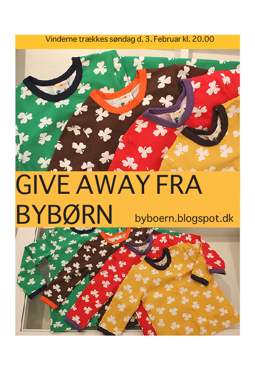 Giveaway hos Bybrn