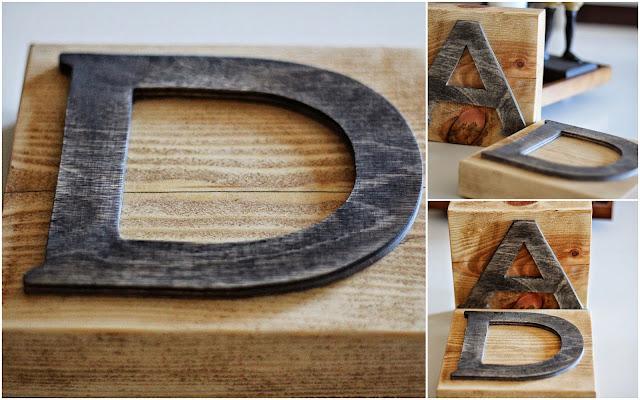 Alfabet, Ozdoby drewniane